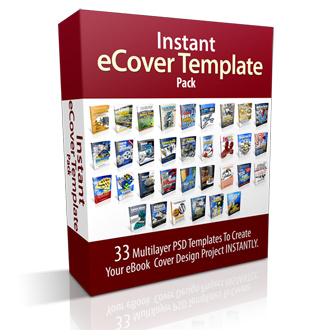 eCover Template PSD